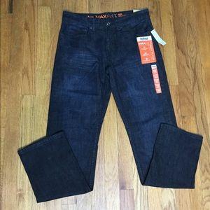 Men's Urban Pipeline Jeans Dark Wash Navy 30x32